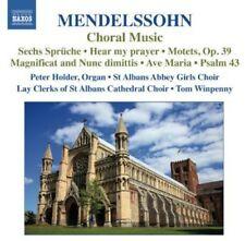 St. Alban Cathedral Choir, F. Mendelssohn - Choral Music [New CD]