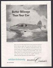 1946 BELLANCA Cruiser Aircraft Plane AD Better mileage than your car