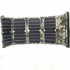 sunpower solar  Folding 24w 12v usb panel  charger for car boat, mobile phone