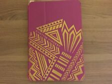 New Cynthia Vincent Folio Case for Apple iPad Mini 1/2/3 Pink/Gold CO8330