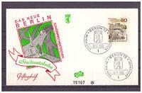 "Berlin, FDC ""Das Neue Berlin"" MiNr. 262 ESSt Berlin 18.11.1965"