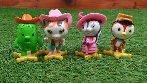 Disney Junior Sheriff Callie's Wild West Figures Callie Peck Toby Priscilla