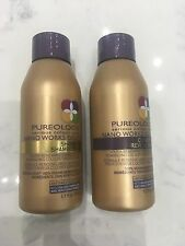 Pureology Nano Works Gold Shampoo & Conditioner 1.7oz Travel Size Duo Set