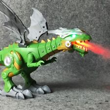 Walking Dragon Toy Fire Breathing Water Spray Dinosaur Weezishop Christmas Gift