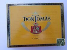 "Don Thomas ""Clasico"" Empty Wooden Cigar Box"