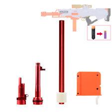 WORKER MOD Short Dart Upgrade Tube Kits Metal for Nerf Ultra Pharaoh Blaster Toy