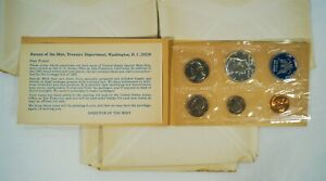 Lot of 5 US Treasury Department 1965 Special Mint Sets #6