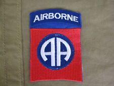 82º AIRBORNE DIVISION Parche SSI AA All American US Vietnam PARACAIDISTA #4