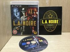 L.A. Noire PlayStation 3 PS3 Game Boxed With Manual Great Disc
