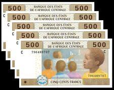 CHAD (C.A.S.) P-606 Cd  - 500 Francs  2017 UNC !