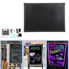 50*70cm Led Writing Board Set Illuminated Neon Sign Message Menu Writing Board
