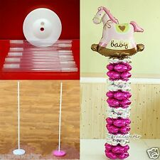 Upright Plastic Balloon Base Column Base Poles Connectors Wedding Party Supplies
