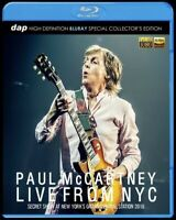 Paul McCartney Live From NYC New York's Grand Central Station 2018 Blu-ray Case