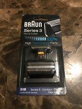 Braun Replacement Foil & Cutter - 31B, Series 3, Contour, Flex XP, Flex Integral
