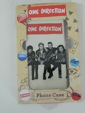 Cover guscio case ONE DIRECTION autografata Black & White per IPHONE 5C OMA151