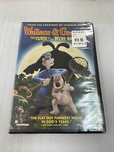 Wallace and Gromit The Curse of the Were-rabbit (DVD) Brand New Sealed!