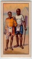 Native African Kaffir Miners 80+  Y/O Ad Trade Card