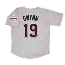 Tony Gwynn San Diego Padres 1998 Grey Road Jersey w/ Team Patch Men's (M-2XL)