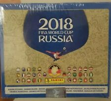 Panini display WM WC 2018 Russia rusia box Pack OVP nuevo sealed bolsas 100