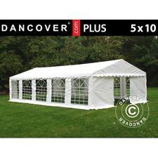 Dancover Tendone per Feste Plus 5x10m PE Bianco