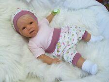 ninisingen Reborn Reallife Kira 54cm Babypuppe Rebornbaby Puppe Baby Rebornpuppe