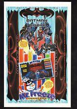 Mr Freeze Freezer Bars--1997 Batman & Robin Advertisement