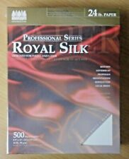 Wausau Royal Silk® Professional Paper 24lb Bright White 500 Sheets 8½ × 11