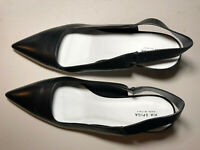 Via Spiga Blake Slingback Pump Sandal Leather Women Shoes - Size 9M