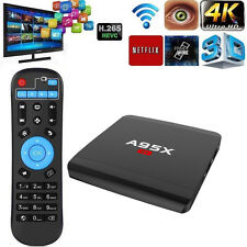 A95X Android 6.0 1GB/8GB Quad-core Smart TV Box 4K 3D Media Players US Plug