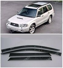 For Subaru Forester 2002 -2008 Window Side Sun Rain Visors Guard Vent Deflectors