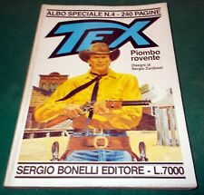 """TEX ALBO SPECIALE TEXONE n. 4 """"Piombo Rovente"""" di Sergio Zaniboni 1991"""
