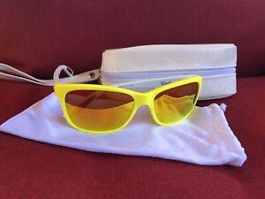Oakley Forehand Yellow and White Fire Iridium
