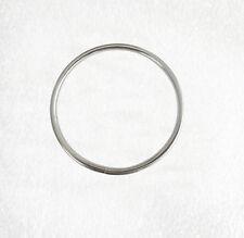 Metal O Rings Silver unwelded 70mm diameter