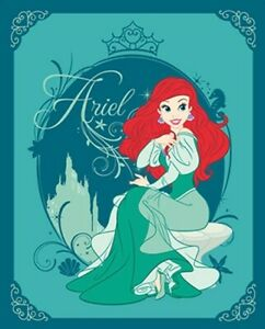Ariel Throw Blanket Disney Ariel Blanket Little Mermaid Polar Fleece Blanket