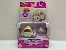 Shopkins Cutie Cars Egg Cart QT3-22 Diecast w/ Mini Shopkin!
