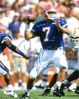 DANNY WUERFFEL SIGNED AUTOGRAPHED 8x10 PHOTO + 96 HEISMAN FLORIDA GATORS PSA/DNA