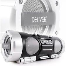 Stereoanlage Boombox Radio CD-Player Kassette MP3 USB AUX Big Light