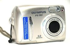 Olympus FE FE-110 5.0MP Digital Camera - Silver Camera Only