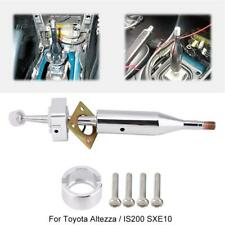 Quick Shift Short Throw Shifter For TOYOTA ALTEZZA/IS200 SXE100 Aluminum Silver