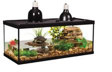 New ListingTurtle Tank Starter Kit 20 Gallon Aquatic Reptile Pet Aquarium for Frogs/ Newts
