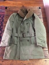 WWII US Army Mackinaw Coat - Type 1 - Sz: 38 Dated 1941 Pre Owned.