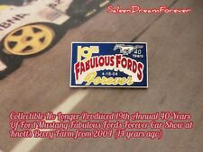 2004 19Th ANNUAL FAB FORD FOREVER CAR SHOW LAPEL PIN 40 YRS OF MUSTANG GT SALEEN