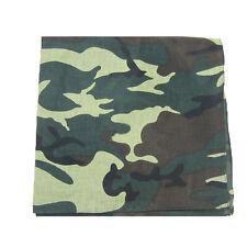 Military Camouflage Unisex Cotton Army Camo Biker Bandanas Men's Hiphop Headwrap