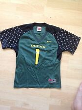 Green Nike Oregon Ducks Football Jersey Size Youth Small Number 1
