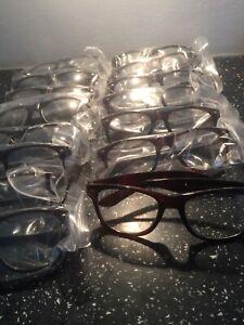 Job Lot Clear Sun Glasses New 12 Pairs