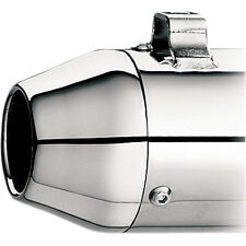 Supertrapp Chrome Steel Tapered End Cap for Supertrapp Exhaust Harley Models