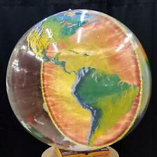 """Jet Creations Educational and Fun Inflatable Earth's Core Globe, 34"""""""