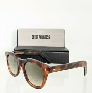 Brand New Authentic CUTLER AND GROSS OF LONDON Sunglasses M : 1232 C DT02 51mm
