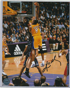 LA LAKERS #8 Kobe Bryant AUTOGRAPH 8x10 Photo w/ *COA* HAND SIGNED