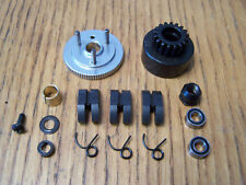 HPI Savage X 4.6 17T M1 Clutch Bell Flywheel Pilot Nut Bearing 3 Shoes & Springs